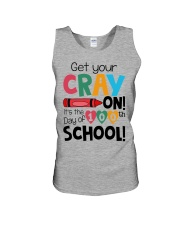 GET YOUR CRAYON IT'S THE 100TH DAY OF SCHOOL Unisex Tank thumbnail