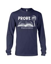 PROVE IT TEXTEVIDENCE Long Sleeve Tee thumbnail