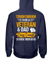 Veteran and Dad Hooded Sweatshirt thumbnail