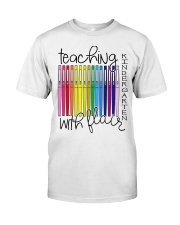 Teaching Kindergarten with Flair Classic T-Shirt thumbnail