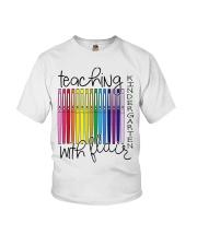 Teaching Kindergarten with Flair Youth T-Shirt thumbnail