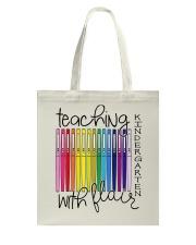 Teaching Kindergarten with Flair Tote Bag thumbnail