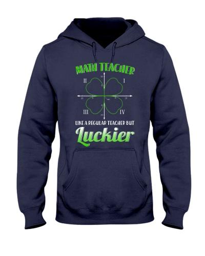 MATH TEACHER LIKE A REGULAR TEACHER BUT LUCKIER
