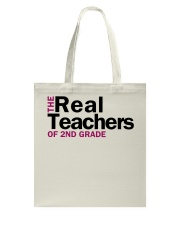 The Real Teachers of 2nd Grade Tote Bag thumbnail