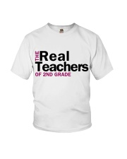 The Real Teachers of 2nd Grade Youth T-Shirt thumbnail