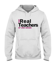 The Real Teachers of 2nd Grade Hooded Sweatshirt thumbnail