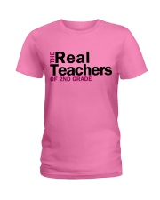The Real Teachers of 2nd Grade Ladies T-Shirt thumbnail