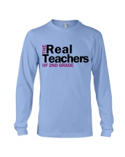 The Real Teachers of 2nd Grade Long Sleeve Tee thumbnail