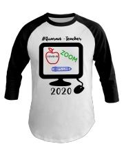 Quaran - Teacher 2020 Baseball Tee thumbnail