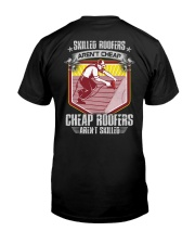 Skilled Roofers Classic T-Shirt back