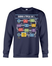 During a typical day Crewneck Sweatshirt thumbnail