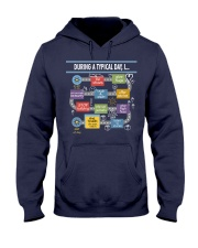 During a typical day Hooded Sweatshirt thumbnail