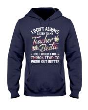 Teacher Bestie Hooded Sweatshirt thumbnail