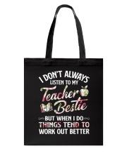 Teacher Bestie Tote Bag thumbnail