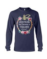QUARANTEACHING - Teacher at heart Long Sleeve Tee thumbnail
