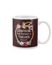 QUARANTEACHING - Teacher at heart Mug thumbnail