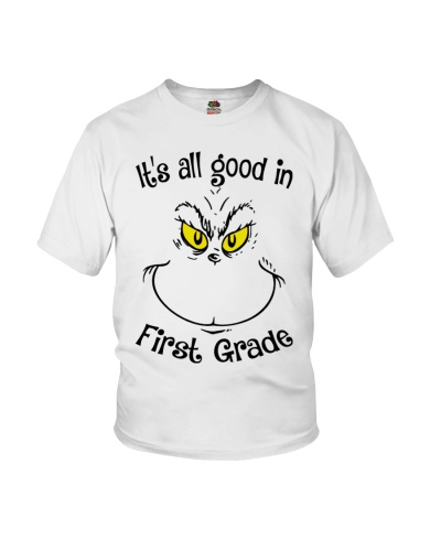 IT'S ALL GOOD IN FIRST GRADE