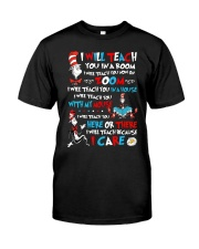 I will teach Classic T-Shirt front