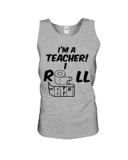 i'm a Teacher i roll with it Unisex Tank thumbnail