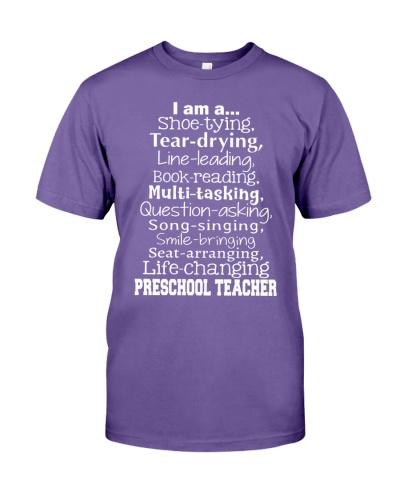 I AM A SHOE-TYING LIFE-CHANGING PRESCHOOL TEACHER