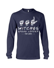 WITCHES SPEAK LOUDER THAN WORDS Long Sleeve Tee thumbnail