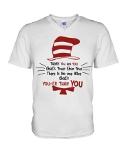 Teacher Shirt V-Neck T-Shirt thumbnail