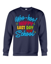 Woo-hoo happy last day of school Crewneck Sweatshirt thumbnail