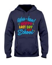 Woo-hoo happy last day of school Hooded Sweatshirt thumbnail