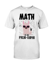 Math is no Prob-Llama Classic T-Shirt thumbnail
