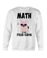 Math is no Prob-Llama Crewneck Sweatshirt thumbnail