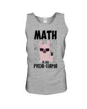 Math is no Prob-Llama Unisex Tank thumbnail