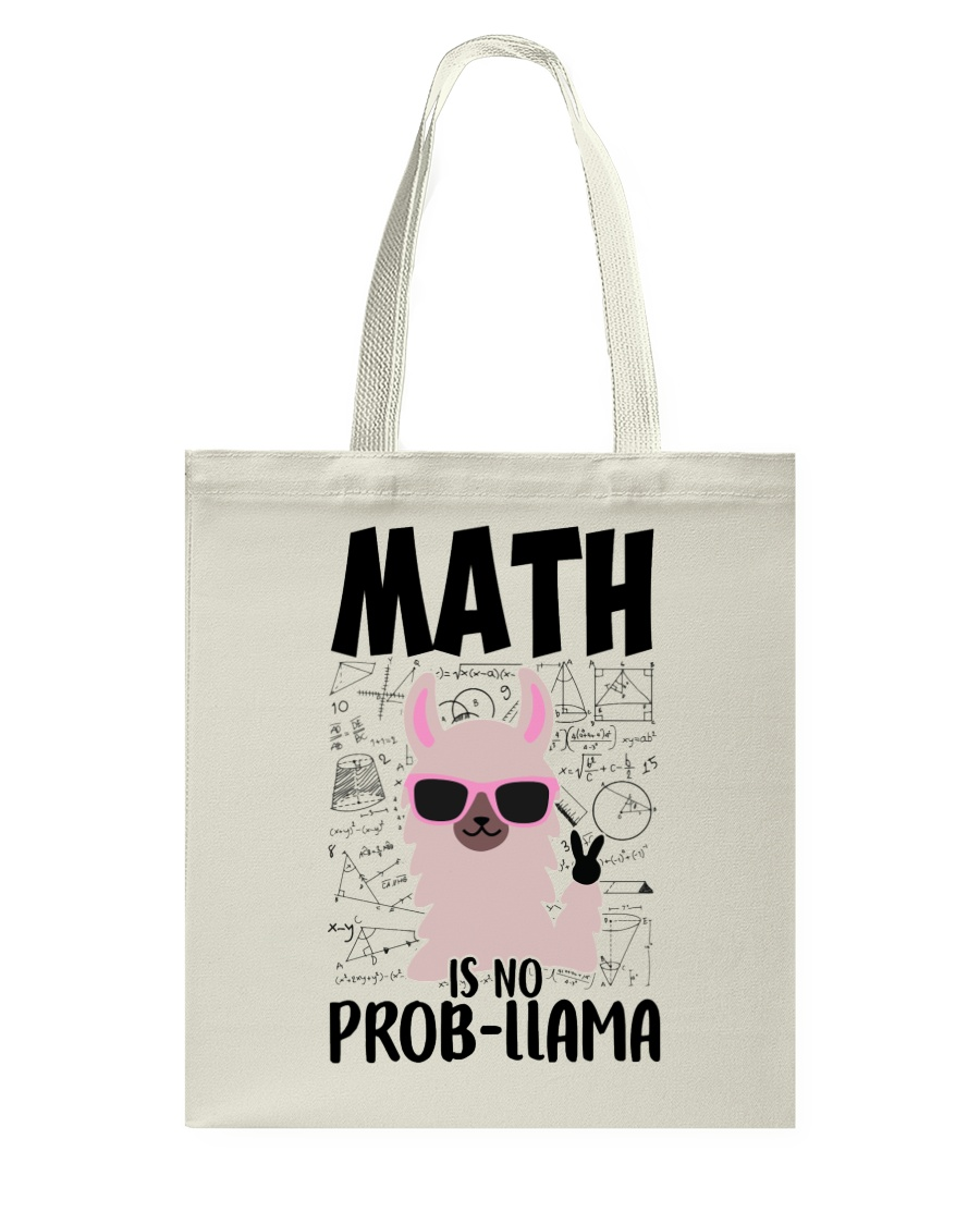 Math is no Prob-Llama Tote Bag