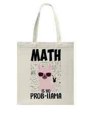 Math is no Prob-Llama Tote Bag thumbnail