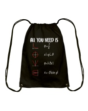Math Love Drawstring Bag thumbnail