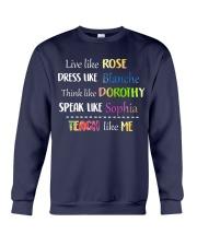 Teach like Me Crewneck Sweatshirt thumbnail
