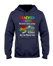 Teacher Besties because Hooded Sweatshirt thumbnail