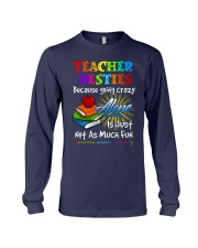 Teacher Besties because Long Sleeve Tee thumbnail
