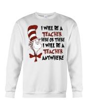 I Will be a Teacher Crewneck Sweatshirt thumbnail