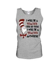 I Will be a Teacher Unisex Tank thumbnail