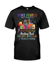 Favorite Musicians Classic T-Shirt front