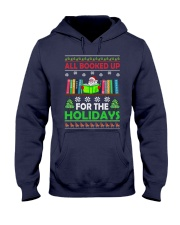 ALL BOOKED UP FOR THE HOLIDAYS Hooded Sweatshirt thumbnail