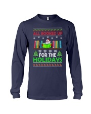 ALL BOOKED UP FOR THE HOLIDAYS Long Sleeve Tee thumbnail