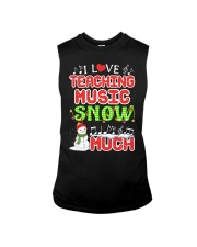 I LOVE TEACHING MUSIC SNOW MUCH Sleeveless Tee tile