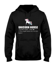 UNICORN NURSE Hooded Sweatshirt thumbnail
