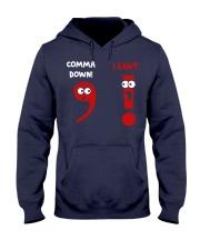 COMMA DOWN Hooded Sweatshirt thumbnail