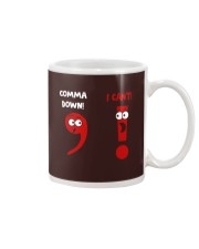 COMMA DOWN Mug thumbnail