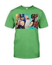 Superheroes wear masks Premium Fit Mens Tee thumbnail