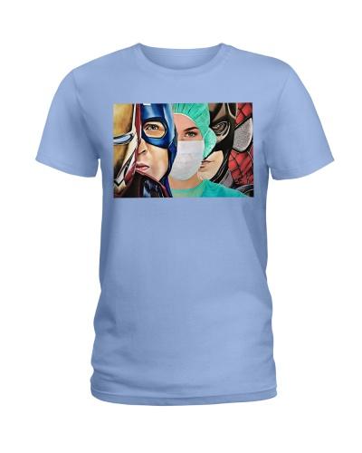 Superheroes wear masks