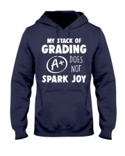 My stack of grading does not spark joy Hooded Sweatshirt thumbnail