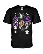 Special Education Halloween V-Neck T-Shirt thumbnail